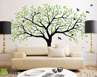 Large Tree Wall Decals Trees Decal Nursery Tree Wall Decals, Tree Mural,  Vinyl Wall Decal   MM001