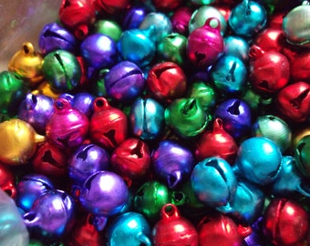 25 x Jingle Bells for Crafts, Cardmaking