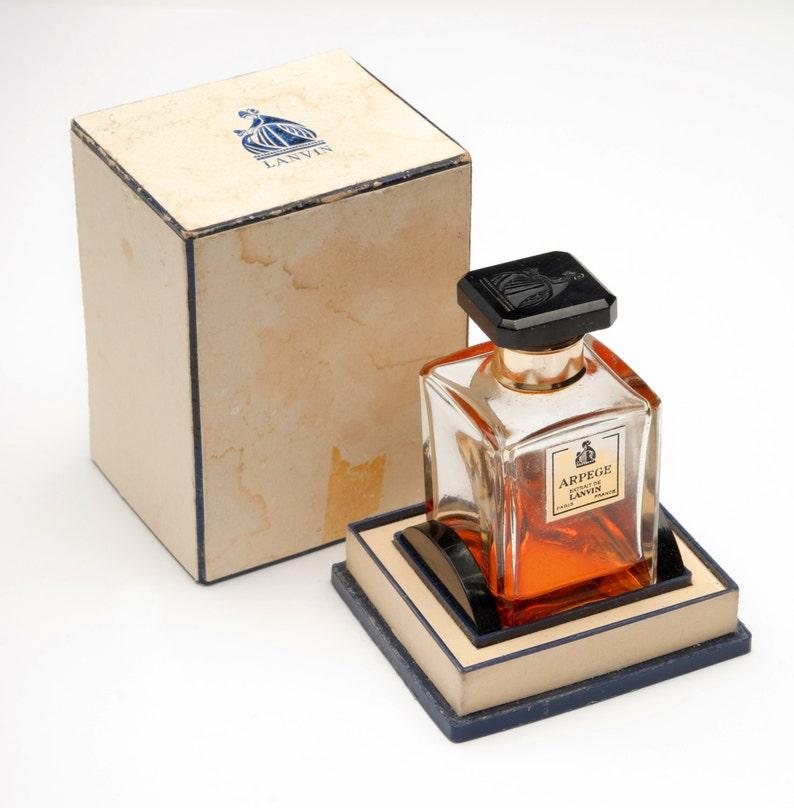 Vintage Arpege Eau De Lanvin Perfume In Original Box Lanvin image 0