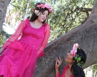 Woman's Fairy Costume ~ Mother/Daughter matching Halloween Dress  ~ Festival ~Masquerade~ Theatre ~Renaissance ~ Sweet 16 ~ Dance ~ Ballet