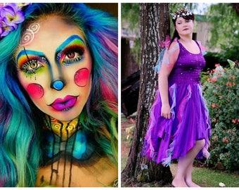 Deluxe Fairy Halloween Carnival Costume ~ Mardi Gras ~ Theatre ~ Fantasy ~ Masquerade ~ Steampunk ~Gothic