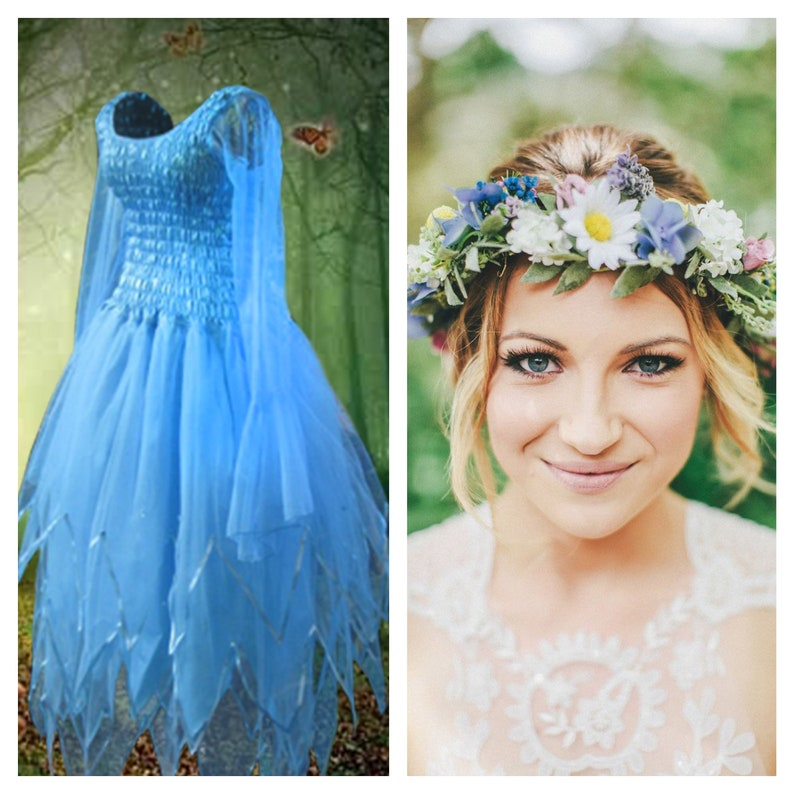 Woman\'s Fairy Dress ~ Halloween Costume ~ Burlesque ~ Festival ~ Theatre ~  Carnival Mardi Gras Dress ~ Dance ~ Ballet