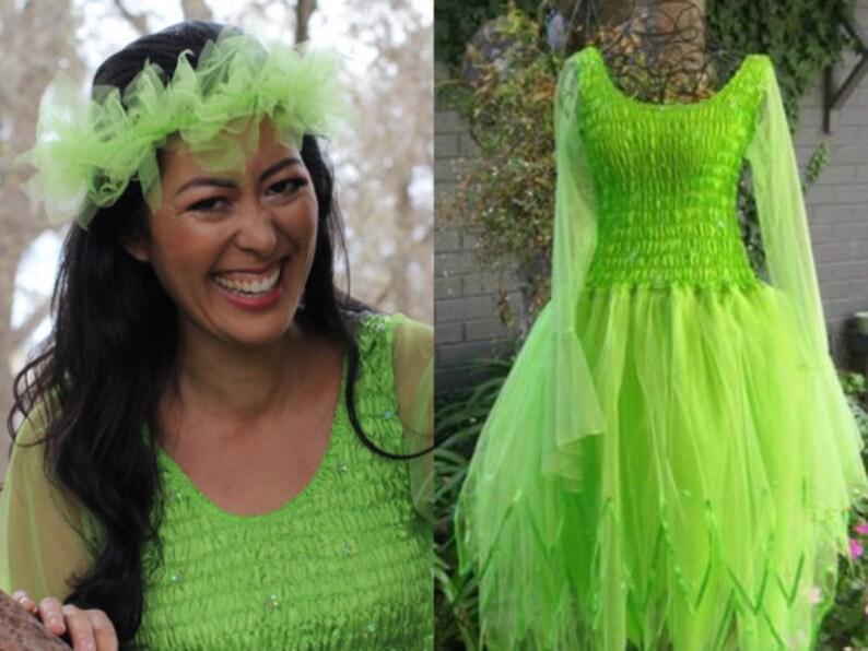 b7cfa32133bf Woman's & Plus Size Fairy Dress Halloween Costume | Etsy