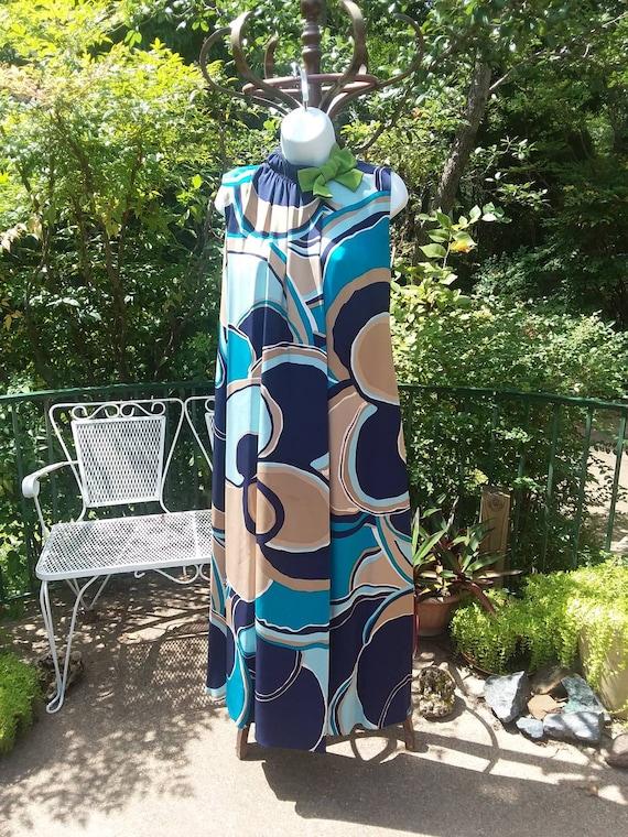 Arnold Scaasi Vintage Op-Art Dress, 1960s - image 2