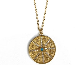 Free Spirit Evil Eye Necklace