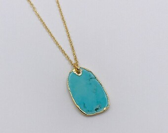Turquoise Charm Pendant