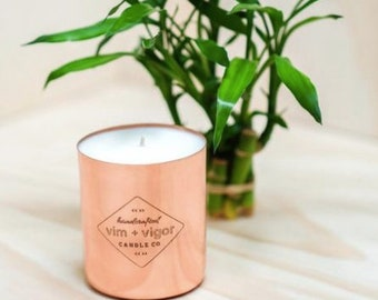 Bamboo and Basil Candle