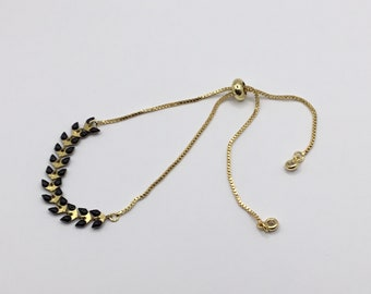 Chevron Chain Bracelet