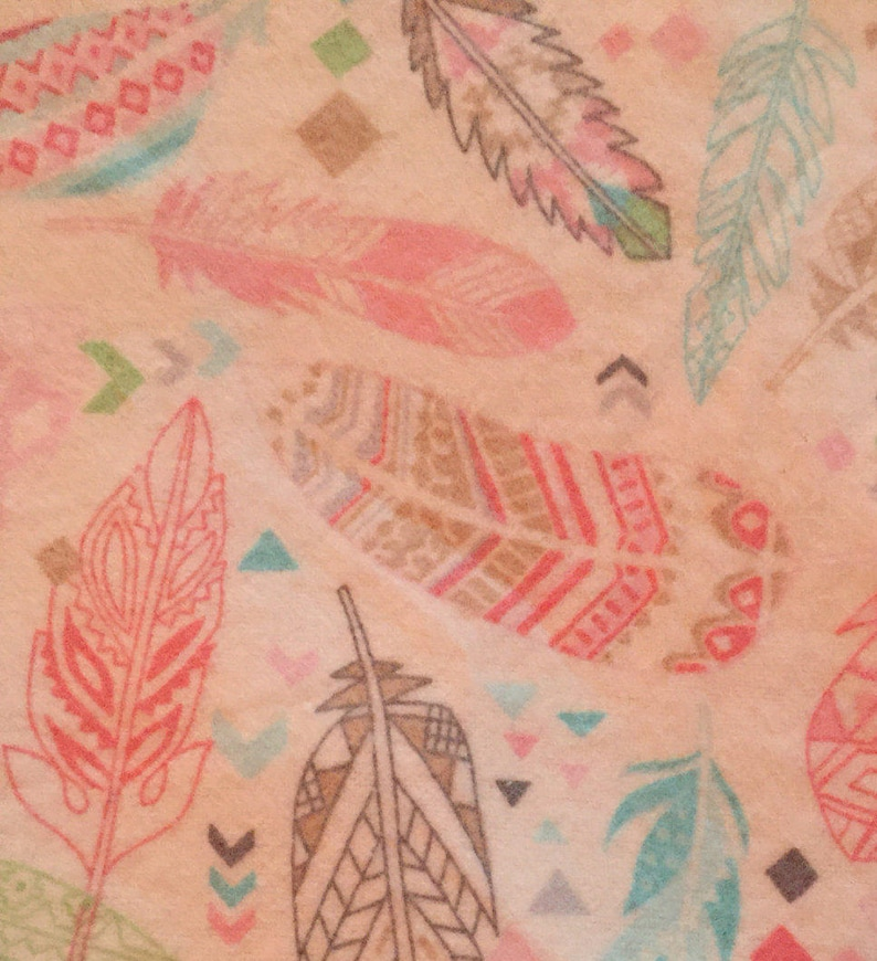Feather Youth Flannel  Blanket