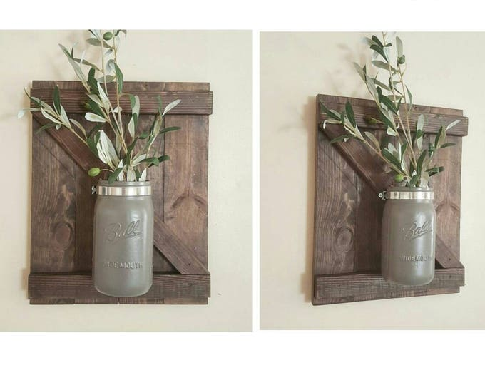 Wall Sconce with Jar