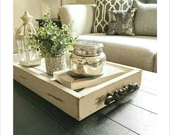 Ordinaire Coffee Table Tray | Etsy