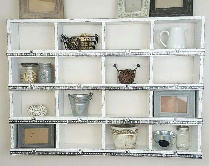 Large Cubby Wall Organizer