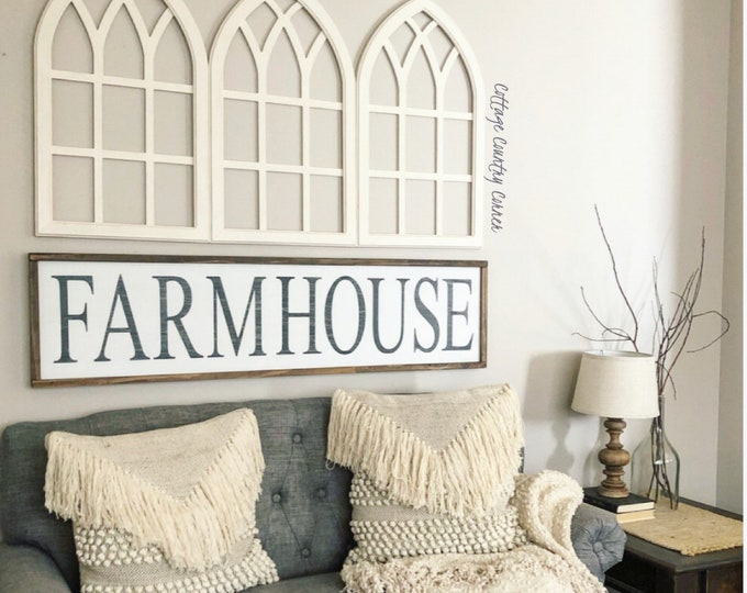 Extra Large Farmhouse Sign