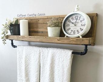Large Towel Rack