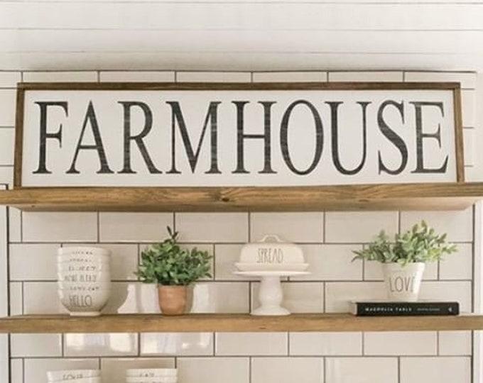 Farmhouse Sign 48x13