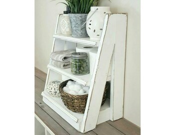 Small Tiered Ladder Shelf