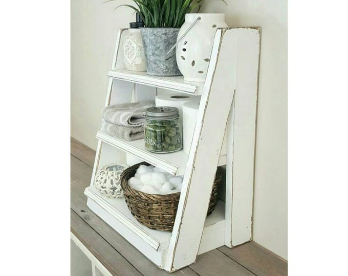 Small Tiered Ladder Shelf