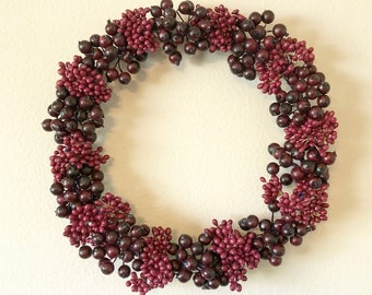 Purple Berry Wreath