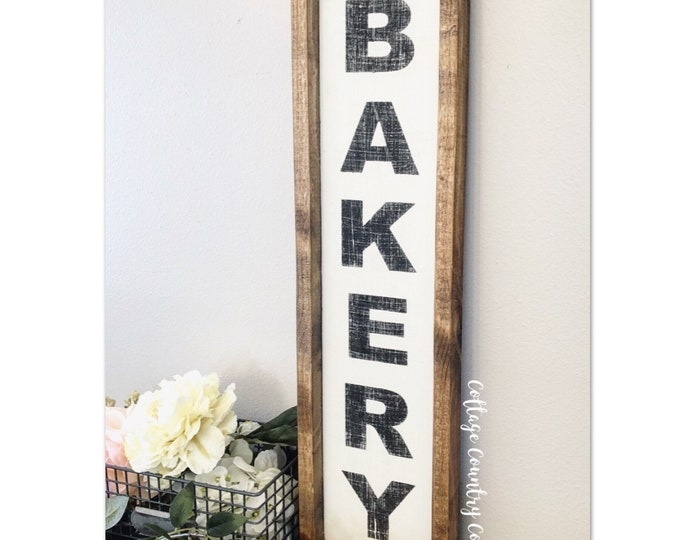 Bakery sign - Wood Bakery Sign - farmhouse decor - farmhouse kitchen - farmhouse kitchen decor - kitchen decor - home decor - farmhouse home