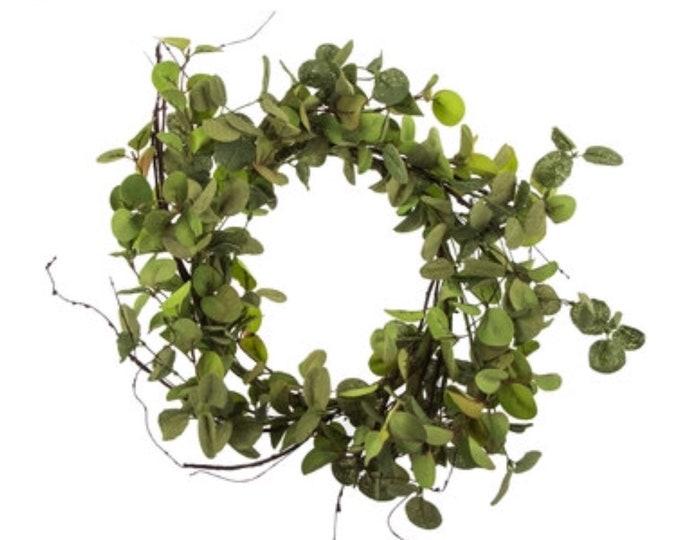 Garden Eucalyptus Wreath