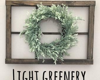Light Greenery Wreath