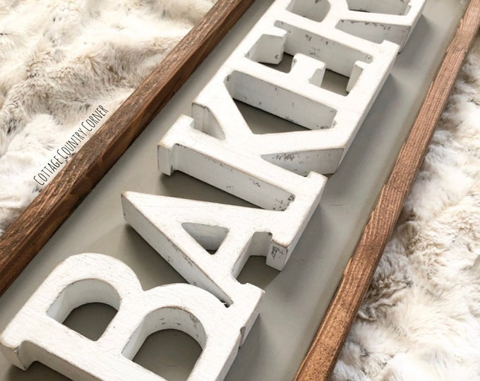 Bakery sign - farmhouse decor - Wall Decor - farmhouse kitchen - farmhouse kitchen decor - kitchen decor - home decor