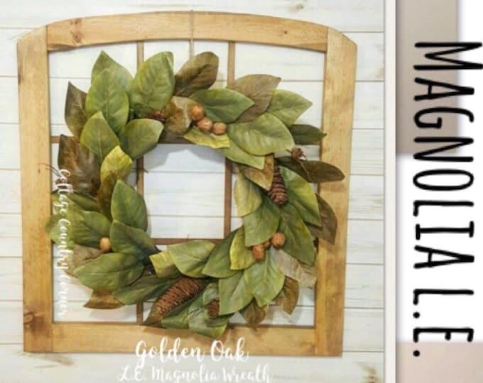 Limited Edition Magnolia Wreath
