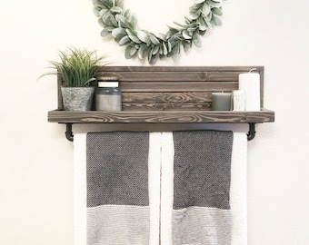 Large Towel Rack