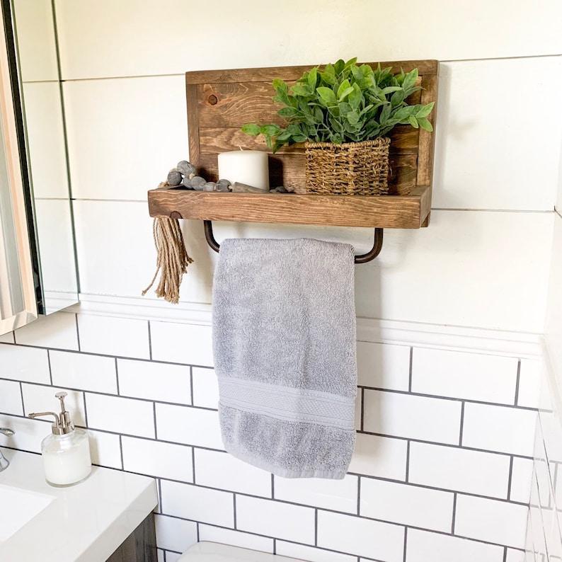Swell Medium Hand Towel Holder Towel Rack Bathroom Decor Towel Rack Farmhouse Bathroom Towel Hook Kitchen Towel Holder Industrial Interior Design Ideas Skatsoteloinfo