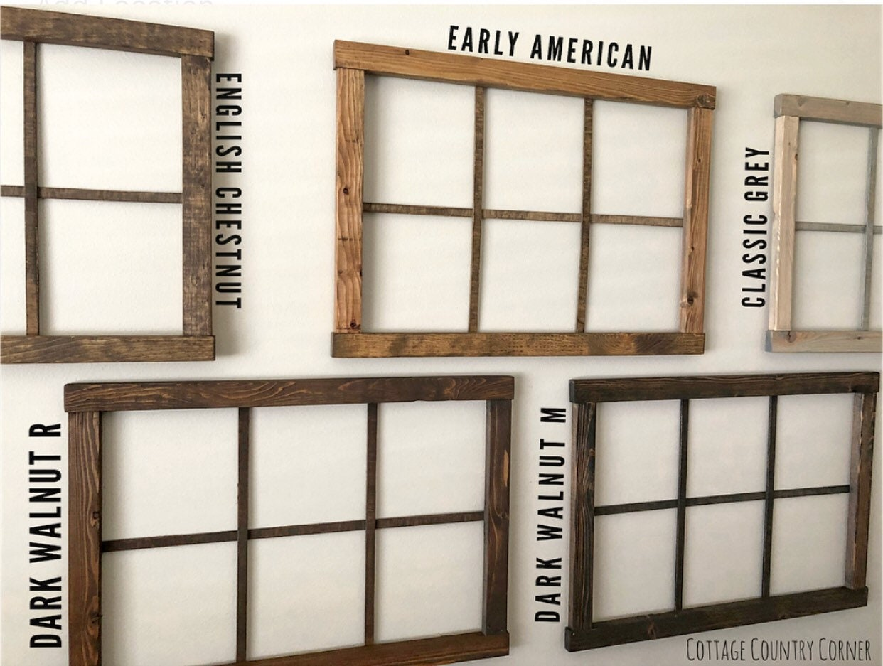 Window Frame 25 x 18 - Window Frame Wall Decor - Farmhouse Decor ...