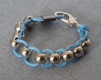 Blue Anxiety Bracelet Fidget Jewelry Sensory Stim Autism Calming