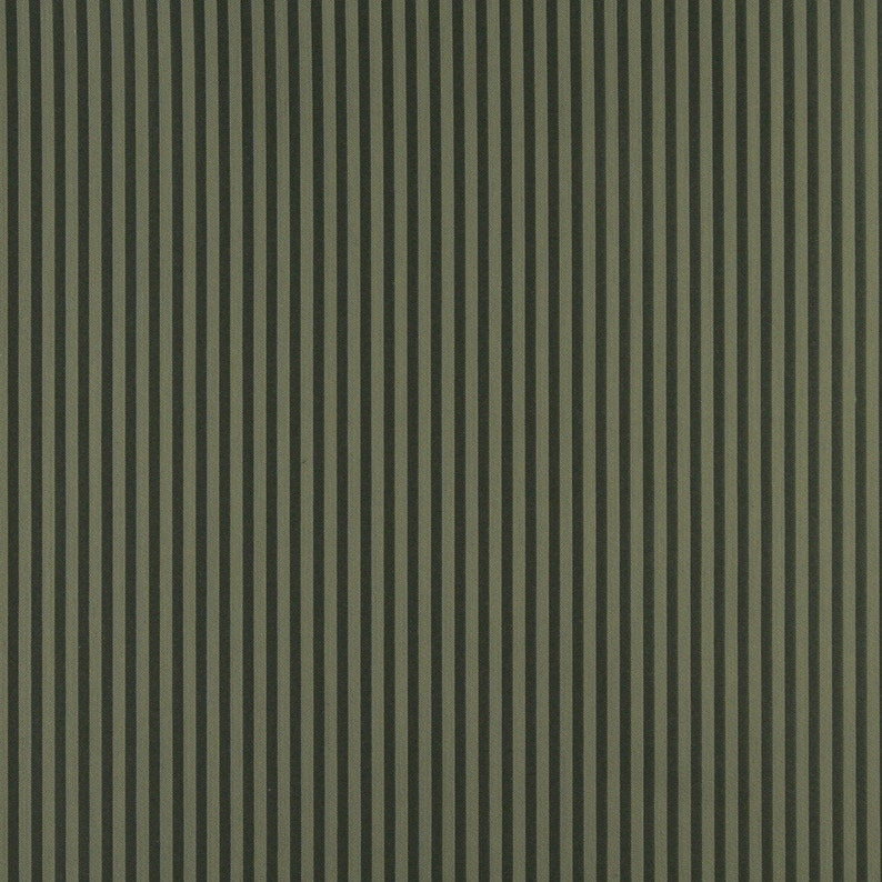 Hunter Green And Green Thin Striped Jacquard Woven Upholstery Fabric By The Yard Pattern # D366