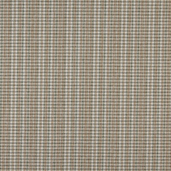 Light Brown Green And Ivory Small Plaid Country Style Etsy
