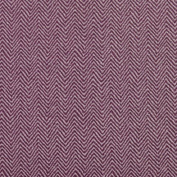 Purple Small Herringbone Chevron Upholstery Fabric By The Yard Etsy