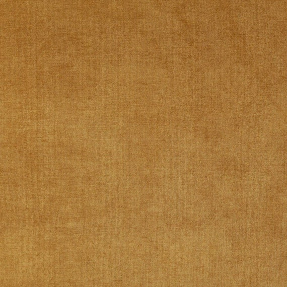 Pattern # D226 Tan Solid Woven Velvet Upholstery Fabric By The Yard From Microtex