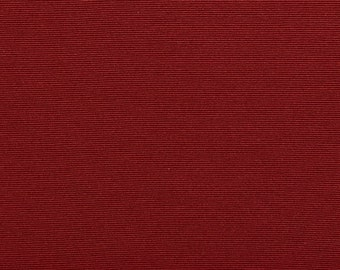 Red Thin Horizontal Lined Upholstery Fabric By The Yard   Pattern # A0240C
