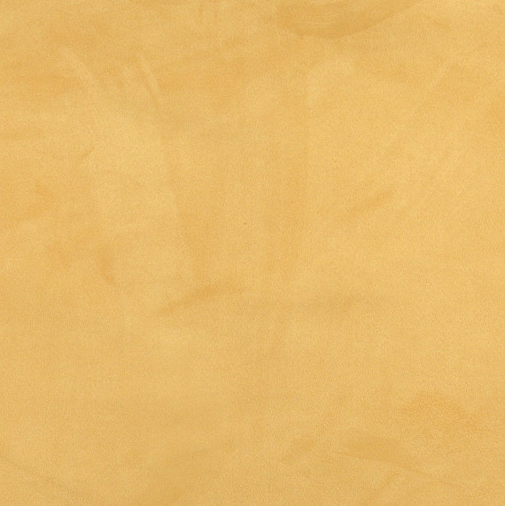 Golden Yellow Microsuede Upholstery Fabric Etsy