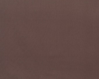 Brown Solid Cotton Canvas Duck Preshrunk Upholstery Fabric By The Yard | Pattern # J443