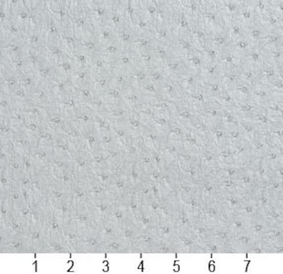 Pattern # G273 Grey Emu Ostrich Upholstery Vinyl By The Yard