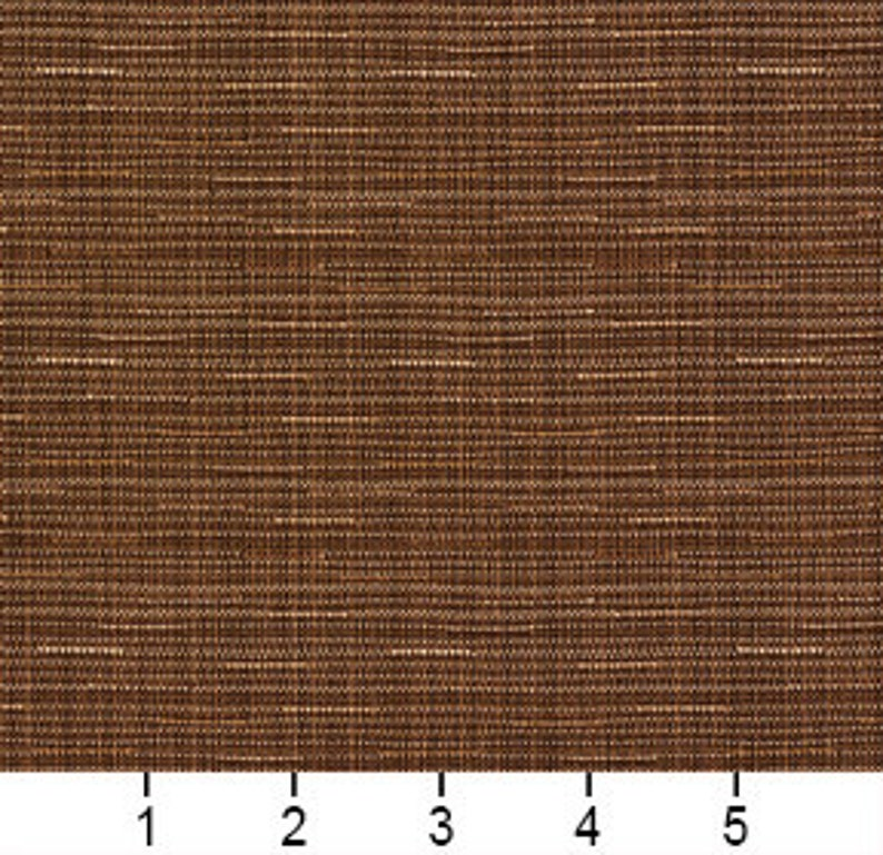 Brown Solid Tweed Textured Metallic Upholstery Fabric By The Yard Pattern # A381