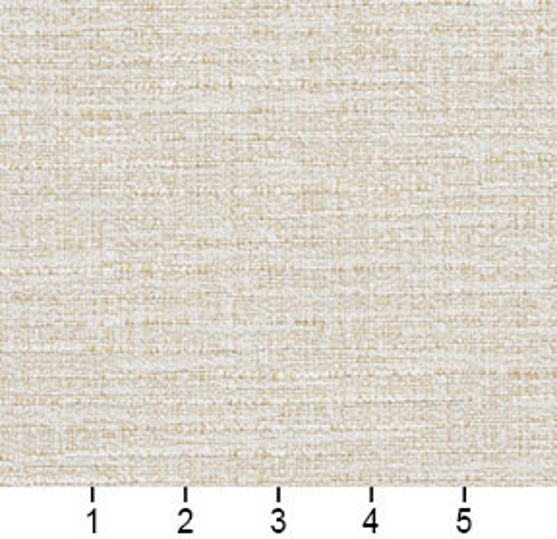 Pattern # A0180J Ivory Textured Woven Upholstery Fabric By The Yard