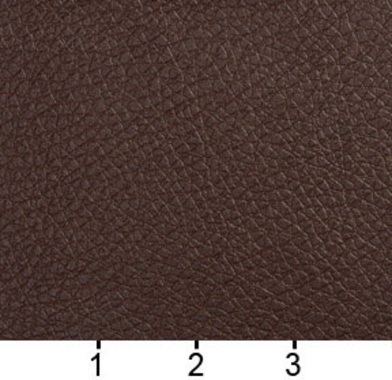 G471 Chocolate Brown Upholstery Recycled Leather Bonded Leather By The Yard