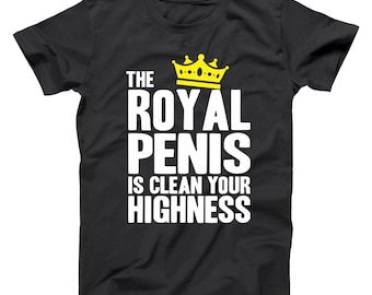 4046adf0 The Royal Penis Is Clean Randy Watson Coming To America Zamunda Basic Men's  T-Shirt DT0725