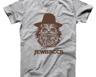 8b44a78900 Jewbacca Jewish Hebrew Star Wars Funny Basic Men's T-Shirt DT0116