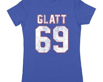 1c2f407efe052b Glatt 69 Goon Halifax Hockey Funny Movie Highlanders Women s Fit T-Shirt  DT2144