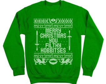 Lord Of The Rings Christmas Jumper.Lord Of The Rings Christmas Sweater Etsy
