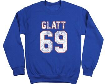 c283f821cd752c Glatt 69 Goon Halifax Hockey Funny Movie Highlanders Crewneck Sweatshirt  DT2144