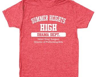 a023512cdf6a Summer Heights High Drama Dept Funny Show Men s Tri-Blend T-Shirt DT0387