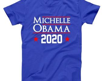 Michelle Obama 2020 Democrat Election Barack Basic Men's T-Shirt DT1629