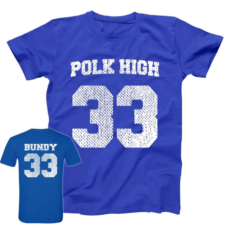 Polk High Al Bundy Jersey Married With Children Costume Basic  5f485cfa17db